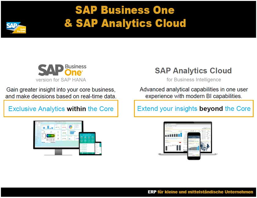 SAP Business One SAP Analytics Clouds