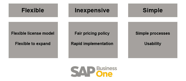 SAP Business One business premises solution PE.ONE