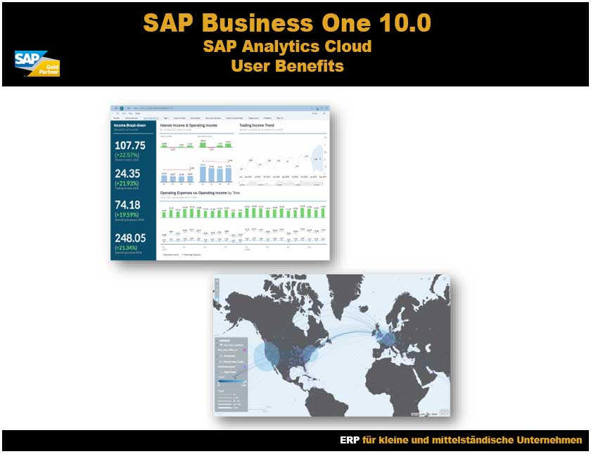 SAP Business One 10 Analytics Cloud User Benefits